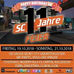 11 Jahre Secret City